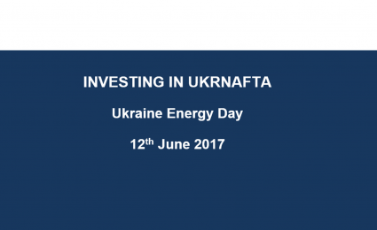 Ukrnafta presents at Ukrainian Energy Day in London